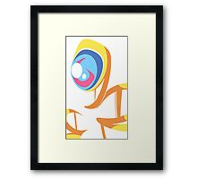 Yellow Ghost Framed Print
