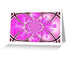 Princess - ABC Greeting Card