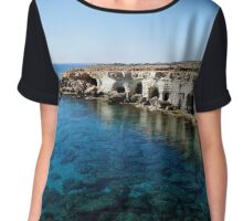 Sea Caves Chiffon Top