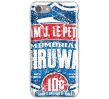 William J. LePetomane Memorial Thruway iPhone Case/Skin