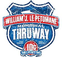 William J. LePetomane Memorial Thruway Photographic Print