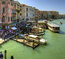 Crowded Venice by Tom Gomez