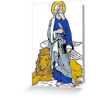 ST MARK THE APOSTLE Greeting Card
