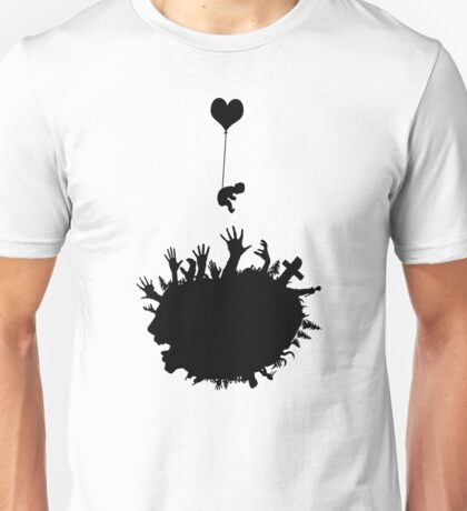 Baby - Balloon - Zombies Unisex T-Shirt
