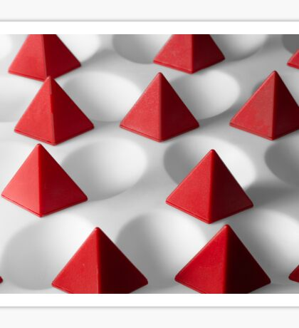Dimple Them Pyramids Sticker