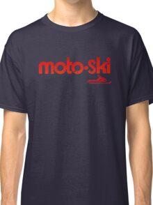 Motoski Vintage Snowmobiles Classic T-Shirt