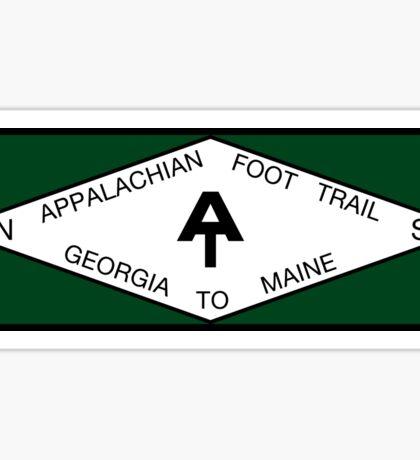 Appalachian Foot Trail sign Sticker