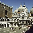 San Marco from Palazzo Ducale Venice Italy 19840728 0005 by Fred Mitchell