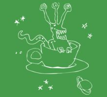 flying cup and saucer Baby Tee