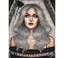 Coffin Girl Photographic Print
