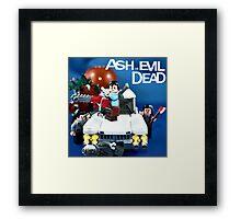 Lego Ash Versus The Evil Dead Framed Print
