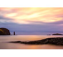 Sandwood Bay Sunset Photographic Print