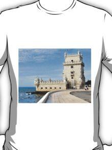 TORRE de BELEM- LISBON, PORTUGAL T-Shirt