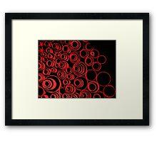 Keep rollin' rollin' rollin'... ;) red Framed Print