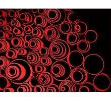 Keep rollin' rollin' rollin'... ;) red Photographic Print