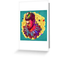 I am not  a Clown  Greeting Card