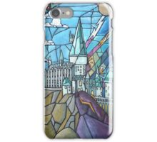 Stained glass Hogwarts iPhone Case/Skin