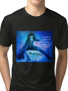black widow Tri-blend T-Shirt