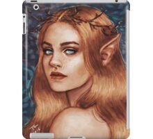 Elf girl iPad Case/Skin