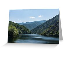 Gentle Breeze - Mountain Lake Ruffled by the Wind Greeting Card