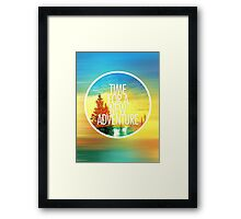 New Adventure 2.0 Framed Print