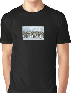 Auster Rookery, Emperor Penguins 2 Graphic T-Shirt