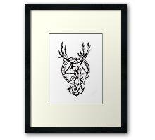 Lady Patronus Framed Print
