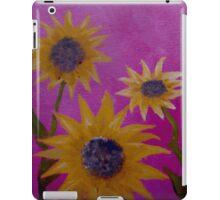 Sunflower Trio  iPad Case/Skin