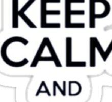 Keep Calm And Love Stiles Stilinkski Sticker