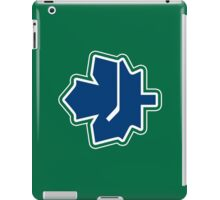 Leafs - Canucks Logo Mashup iPad Case/Skin