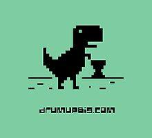 Drum Up Big T-rex _Black by drumupbig