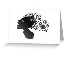 MUSICAL MIND Greeting Card