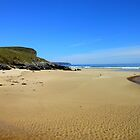 A Sunny Day on Tolsta Beach by MidnightMelody