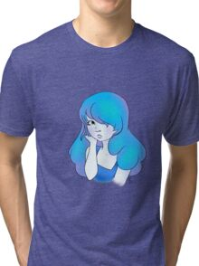Steven Universe Sapphire Tri-blend T-Shirt