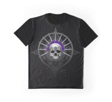 Cycle Pirate Skull Graphic T-Shirt