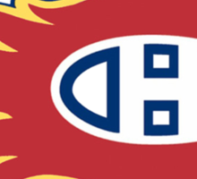 Montreal Flames - Calgary Canadiens Sticker