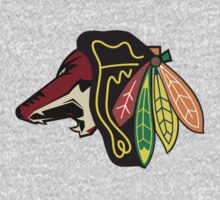 Phoenix Blackhawks - Chicago Coyotes by Phneepers