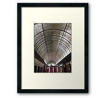 Cathedral Arcade Framed Print