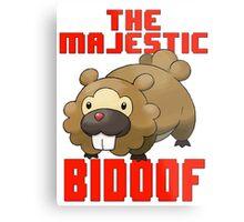 The Majestic Bidoof Metal Print