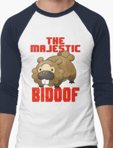 The Majestic Bidoof Men's Baseball ¾ T-Shirt