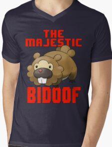 The Majestic Bidoof Mens V-Neck T-Shirt
