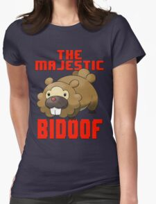 The Majestic Bidoof Womens Fitted T-Shirt