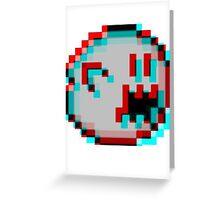 3D BOO Greeting Card