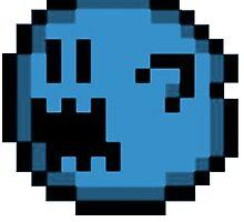 BLUE BOO by kitsophrenik