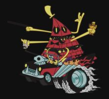 Bills Nightmare Hot Rod! One Piece - Short Sleeve