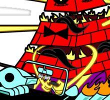 Bills Nightmare Hot Rod! Sticker