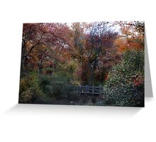 Autumn Scenery Greeting Card