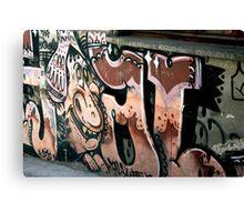 Peruvian Graffiti Canvas Print
