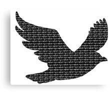 """Edgar Allan Poe """" Nevermore """" Raven Canvas Print"""