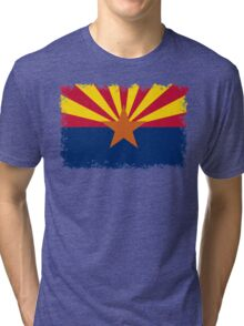 Arizona State flag - Authentic version Tri-blend T-Shirt